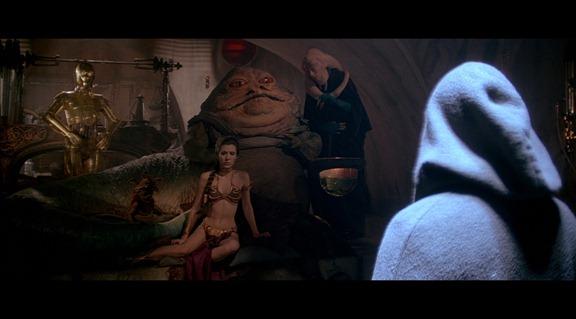 La Princesa Leia Esclava se ve genial en HD.
