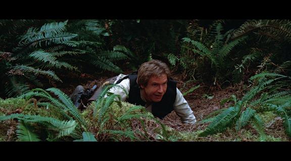 Harrison Ford tiene mas carisma en un dedo que Hayden Christensen en todo su cuerpo.