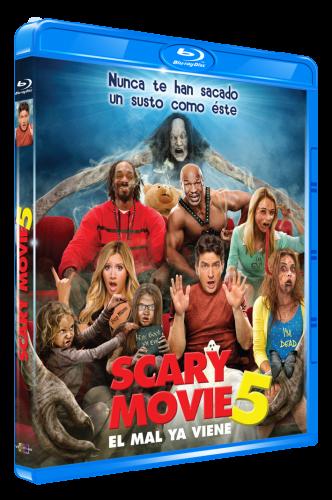 Una Pelicula De Miedo 5 Scary Movie 5 86 Min 2013 Reg A Analisis De Blu Ray